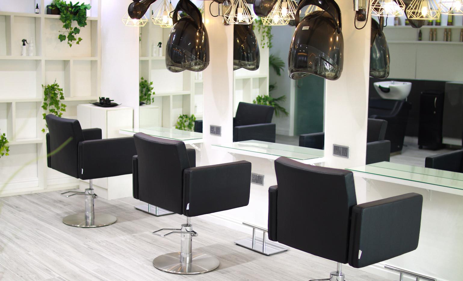 taupe salon